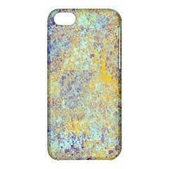 Abstract Earth Tones With Blue  Apple iPhone 5C Hardshell Case