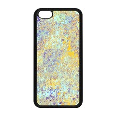 Abstract Earth Tones With Blue  Apple iPhone 5C Seamless Case (Black)