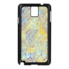 Abstract Earth Tones With Blue  Samsung Galaxy Note 3 N9005 Case (black)