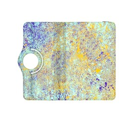 Abstract Earth Tones With Blue  Kindle Fire Hdx 8 9  Flip 360 Case