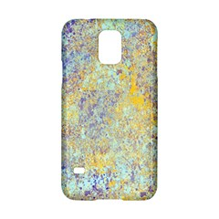 Abstract Earth Tones With Blue  Samsung Galaxy S5 Hardshell Case