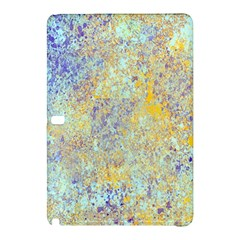 Abstract Earth Tones With Blue  Samsung Galaxy Tab Pro 10 1 Hardshell Case