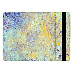 Abstract Earth Tones With Blue  Samsung Galaxy Tab Pro 12 2  Flip Case