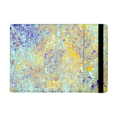 Abstract Earth Tones With Blue  Ipad Mini 2 Flip Cases