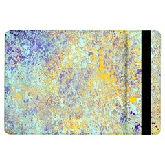 Abstract Earth Tones With Blue  iPad Air Flip