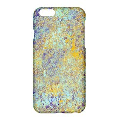 Abstract Earth Tones With Blue  Apple iPhone 6 Plus Hardshell Case