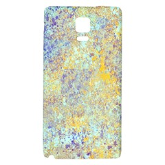 Abstract Earth Tones With Blue  Galaxy Note 4 Back Case