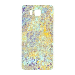 Abstract Earth Tones With Blue  Samsung Galaxy Alpha Hardshell Back Case