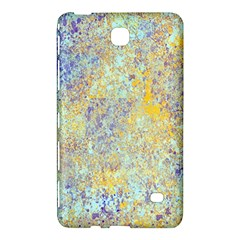 Abstract Earth Tones With Blue  Samsung Galaxy Tab 4 (7 ) Hardshell Case