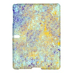 Abstract Earth Tones With Blue  Samsung Galaxy Tab S (10.5 ) Hardshell Case