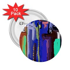 Abstract City Design 2.25  Buttons (10 pack)