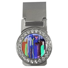 Abstract City Design Money Clips (cz)