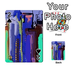 Abstract City Design Playing Cards 54 Designs