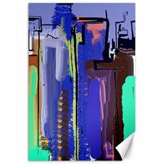Abstract City Design Canvas 20  X 30
