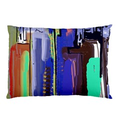 Abstract City Design Pillow Cases