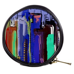 Abstract City Design Mini Makeup Bags