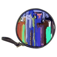 Abstract City Design Classic 20 Cd Wallets