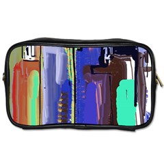 Abstract City Design Toiletries Bags 2-Side