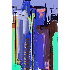 Abstract City Design 5.5  x 8.5  Notebooks