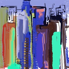 Abstract City Design Magic Photo Cubes