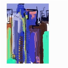 Abstract City Design Large Garden Flag (Two Sides)