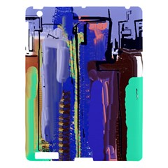 Abstract City Design Apple iPad 3/4 Hardshell Case