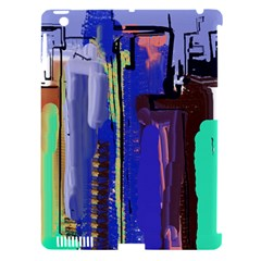 Abstract City Design Apple Ipad 3/4 Hardshell Case (compatible With Smart Cover)