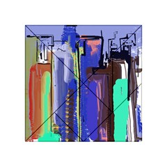 Abstract City Design Acrylic Tangram Puzzle (4  X 4 )