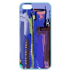 Abstract City Design Apple Seamless Iphone 5 Case (color)