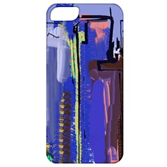 Abstract City Design Apple Iphone 5 Classic Hardshell Case