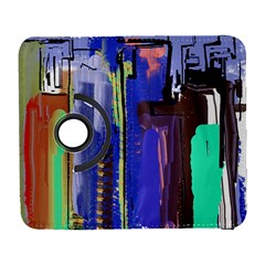 Abstract City Design Samsung Galaxy S  Iii Flip 360 Case