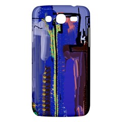 Abstract City Design Samsung Galaxy Mega 5.8 I9152 Hardshell Case