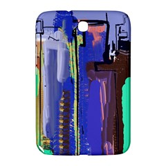 Abstract City Design Samsung Galaxy Note 8 0 N5100 Hardshell Case
