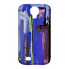 Abstract City Design Samsung Galaxy S4 Classic Hardshell Case (PC+Silicone)