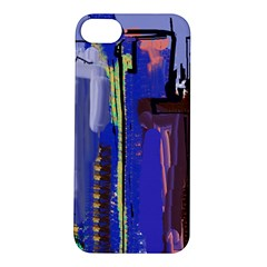 Abstract City Design Apple iPhone 5S Hardshell Case
