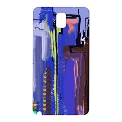 Abstract City Design Samsung Galaxy Note 3 N9005 Hardshell Back Case