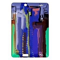 Abstract City Design Kindle Fire HD (2013) Hardshell Case