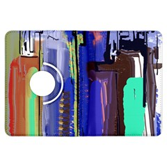Abstract City Design Kindle Fire Hdx Flip 360 Case
