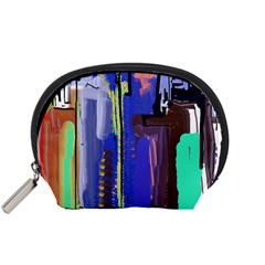 Abstract City Design Accessory Pouches (Small)