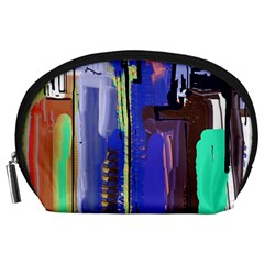 Abstract City Design Accessory Pouches (large)