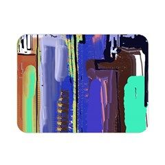 Abstract City Design Double Sided Flano Blanket (Mini)