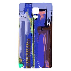 Abstract City Design Galaxy Note 4 Back Case