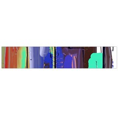 Abstract City Design Flano Scarf (large)