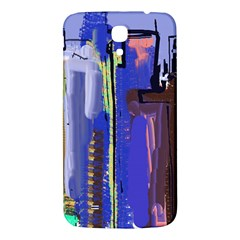 Abstract City Design Samsung Galaxy Mega I9200 Hardshell Back Case