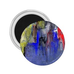 Hazy City Abstract Design 2.25  Magnets