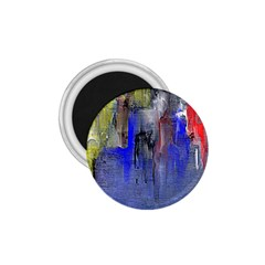 Hazy City Abstract Design 1.75  Magnets