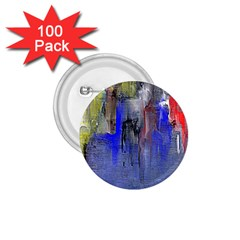 Hazy City Abstract Design 1.75  Buttons (100 pack)