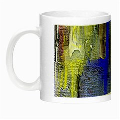 Hazy City Abstract Design Night Luminous Mugs