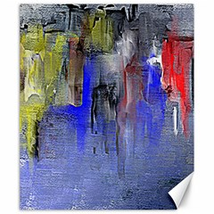 Hazy City Abstract Design Canvas 20  X 24