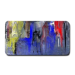 Hazy City Abstract Design Medium Bar Mats
